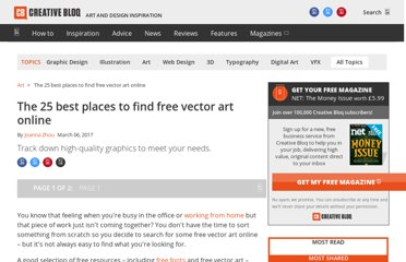 http://www.creativebloq.com/graphic-design/best-places-free-vector-art-1012985