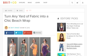 http://www.brit.co/turn-any-yard-of-fabric-into-a-chic-beach-wrap/