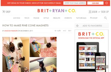 http://www.brit.co/how-to-make-pine-cone-magnets/