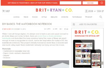 http://www.brit.co/diy-basics-the-matchbook-notebook/