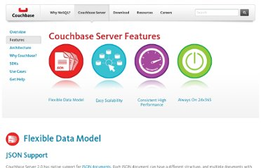 http://www.couchbase.com/couchbase-server/features