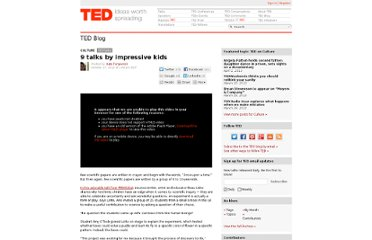 http://blog.ted.com/2012/10/17/9-talks-by-impressive-kids/