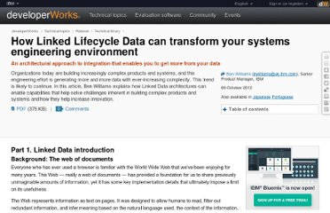 http://www.ibm.com/developerworks/rational/library/linked-lifecycle-data-systems-engineering-environment/index.html?&fls