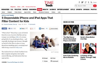 http://techland.time.com/2012/09/25/5-dependable-iphone-and-ipad-apps-that-filter-content-for-kids/