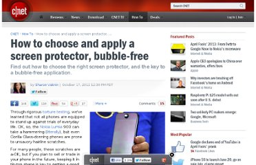 http://howto.cnet.com/8301-11310_39-57533486-285/how-to-choose-and-apply-a-screen-protector-bubble-free/
