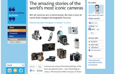 http://conversations.nokia.com/2012/10/18/the-amazing-stories-of-the-worlds-most-iconic-cameras/