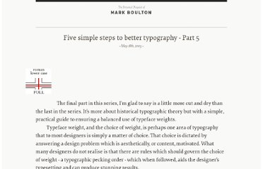 http://www.markboulton.co.uk/journal/five-simple-steps-to-better-typography-part-5