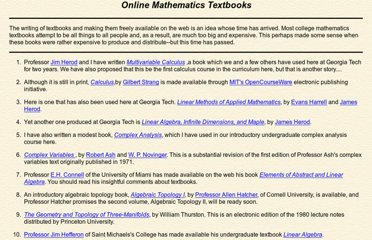 http://people.math.gatech.edu/~cain/textbooks/onlinebooks.html