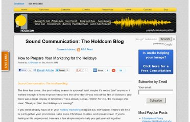 http://soundcommunication.holdcom.com/bid/90640/How-to-Prepare-Your-Marketing-for-the-Holidays