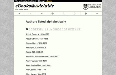 http://ebooks.adelaide.edu.au/meta/authors.html