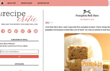 http://riversrecipereview.blogspot.com/2012/10/pumpkin-roll-bars.html