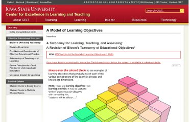http://www.celt.iastate.edu/teaching/RevisedBlooms1.html