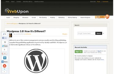 http://webupon.com/blogging/wordpress-3-0-how-its-different/