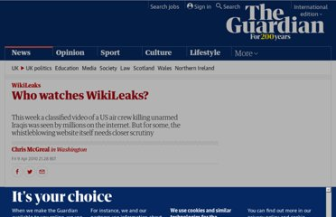 http://www.guardian.co.uk/media/2010/apr/10/wikileaks-collateral-murder-video-iraq
