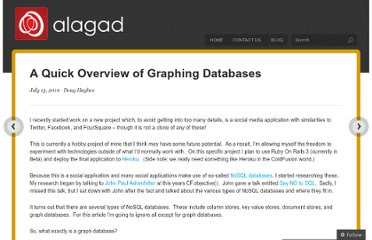 http://alagad.com/2010/07/13/a-quick-overview-of-graphing-databases/