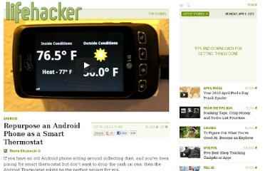 http://lifehacker.com/5951766/repurpose-an-old-android-phone-as-a-smart-thermostat