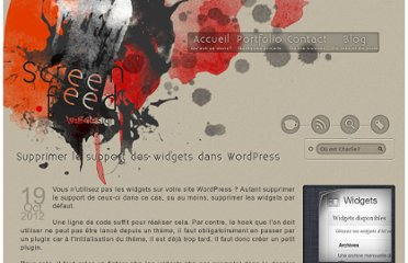 http://www.screenfeed.fr/blog/supprimer-le-support-des-widgets-dans-wordpress-01326/