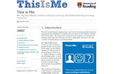 http://blogs.reading.ac.uk/this-is-me/