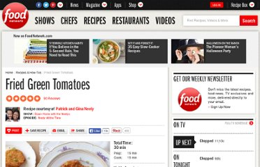 http://www.foodnetwork.com/recipes/patrick-and-gina-neely/fried-green-tomatoes-recipe/index.html