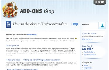 https://blog.mozilla.org/addons/2009/01/28/how-to-develop-a-firefox-extension/