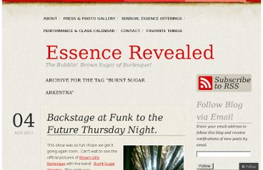 http://essencerevealed.wordpress.com/tag/burnt-sugar-arkestra/