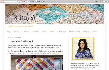 http://www.stitchedincolor.com/2010/07/inspiration-value-quilts.html