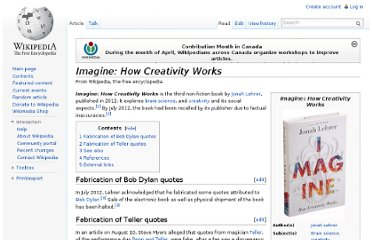 http://en.wikipedia.org/wiki/Imagine:_How_Creativity_Works