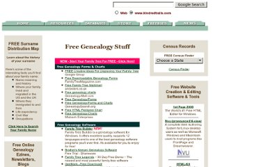 http://www.kindredtrails.com/free_genealogy_stuff.html