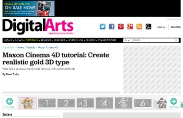 http://digitalartsonline.co.uk/tutorials/cinema-4d/create-realistic-gold-3d-type/