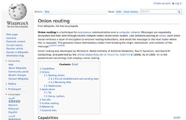 http://en.wikipedia.org/wiki/Onion_routing