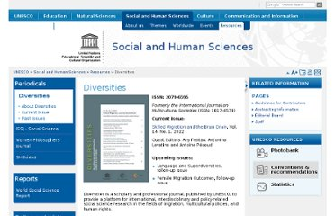 http://www.unesco.org/new/en/social-and-human-sciences/resources/periodicals/diversities/