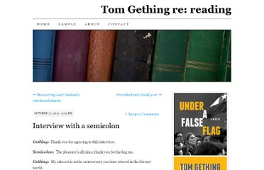 https://tomgething.wordpress.com/2012/10/17/interview-with-a-semicolon/