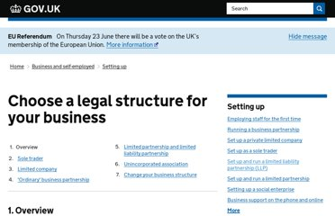 https://www.gov.uk/business-legal-structures/overview