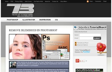 http://www.tutorialboard.net/remove-blemishes-in-photoshop/