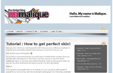 http://www.mrmalique.com/index.php/tutorial-how-to-get-perfect-skin/