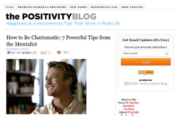 http://www.positivityblog.com/index.php/2009/03/20/how-to-be-charismatic-7-powerful-tips-from-the-mentalist/