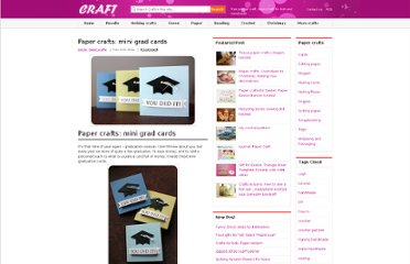 http://www.craft-craft.net/paper-crafts-mini-grad-cards.html