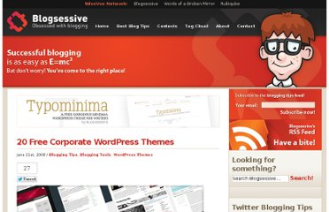 http://blogsessive.com/blogging-tips/20-corporate-free-wordpress-themes/