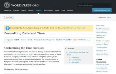 http://codex.wordpress.org/Formatting_Date_and_Time