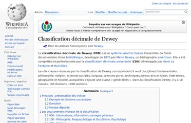 http://fr.wikipedia.org/wiki/Classification_d%C3%A9cimale_de_Dewey