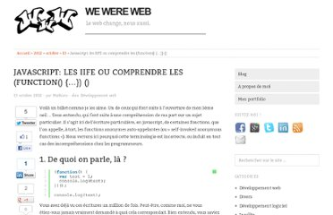 http://www.wewereweb.be/javascript-les-iife-ou-comprendre-les-function/2012/10/13/