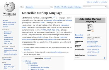 http://fr.wikipedia.org/wiki/Extensible_Markup_Language