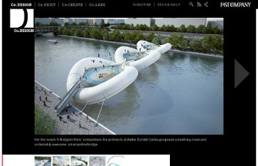 http://www.fastcodesign.com/1671052/a-trampoline-bridge-for-bouncing-across-pariss-river-seine#1