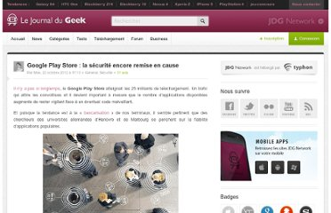 http://www.journaldugeek.com/2012/10/22/google-play-store-la-securite-encore-remise-en-cause/