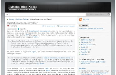 http://jjbrun.wordpress.com/2010/02/21/chantal-jouanno-snobe-twitter/#comments