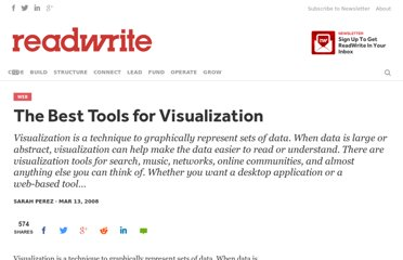 http://readwrite.com/2008/03/13/the_best_tools_for_visualization