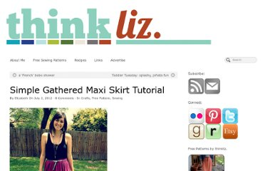 http://thinkliz.com/2012/07/02/simple-gathered-maxi-skirt-tutorial/