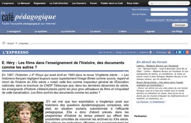 http://www.cafepedagogique.net/lexpresso/Pages/2012/10/23102012Article634865674045473818.aspx