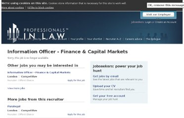 http://www.professionalsinlaw.com/apply/2077/information-officer-finance-and-capital-markets/