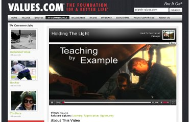 http://www.values.com/inspirational-stories-tv-spots/83-Holding-The-Light